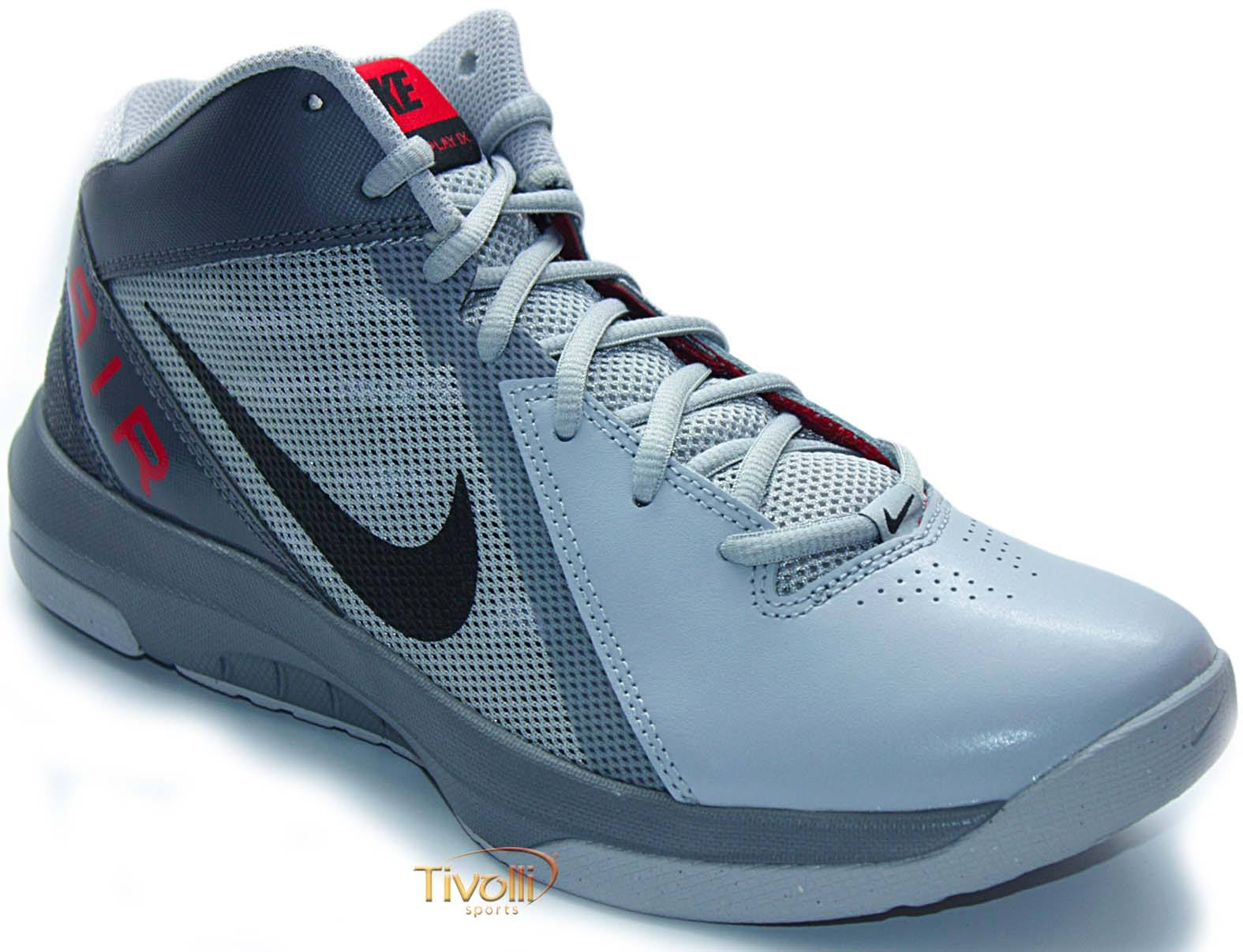 dce977e36 Tênis Nike The Air Overplay IX Basquete > Masculino Cinza >