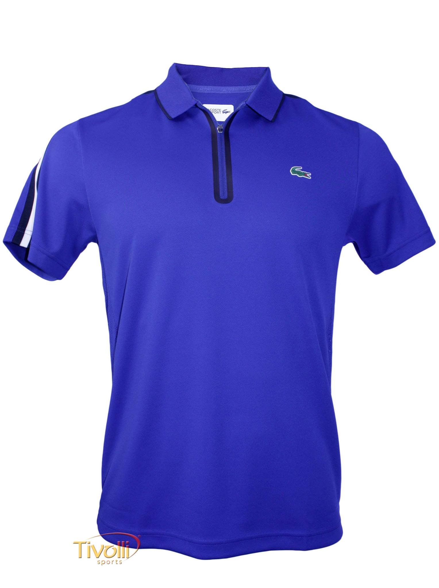 ce64cf7a0b1 Camisa Polo Lacoste Sport Ultra Dry   masculina azul royal