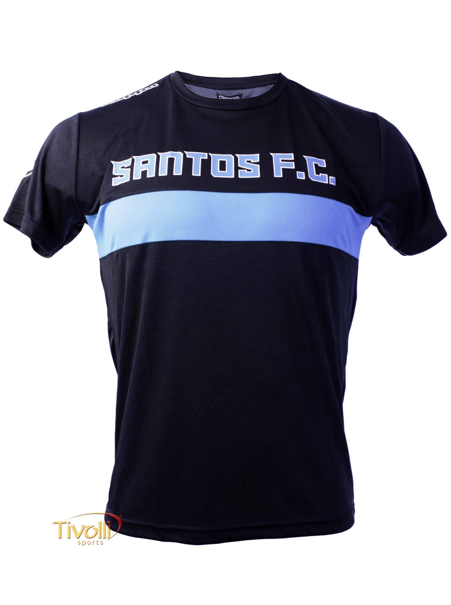 a7d7a89e166eb Camiseta Santos Viagem Kappa 2016