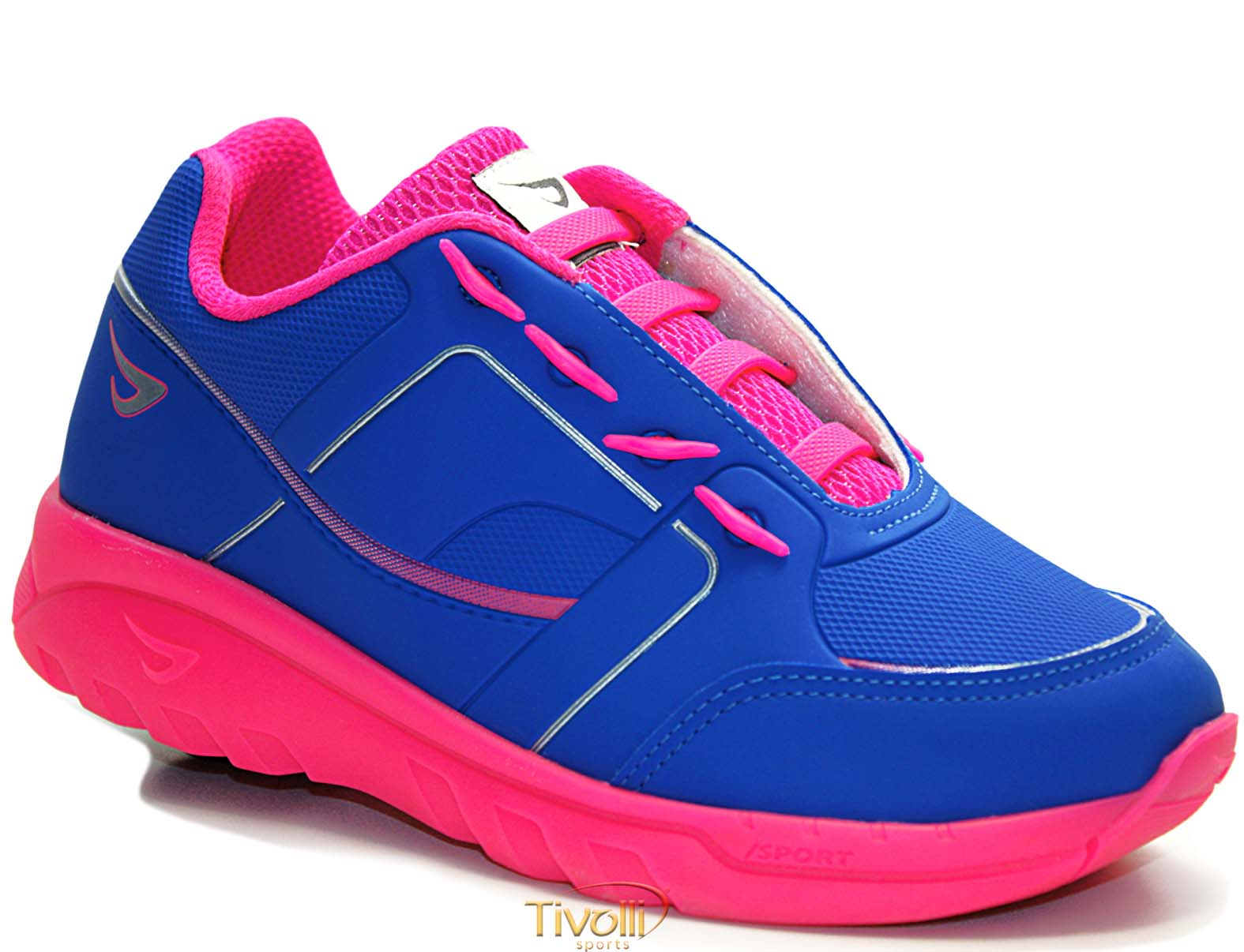 a01495853 Tênis de Rodinha Ortopé Estica e Puxa > feminino azul e rosa pink >