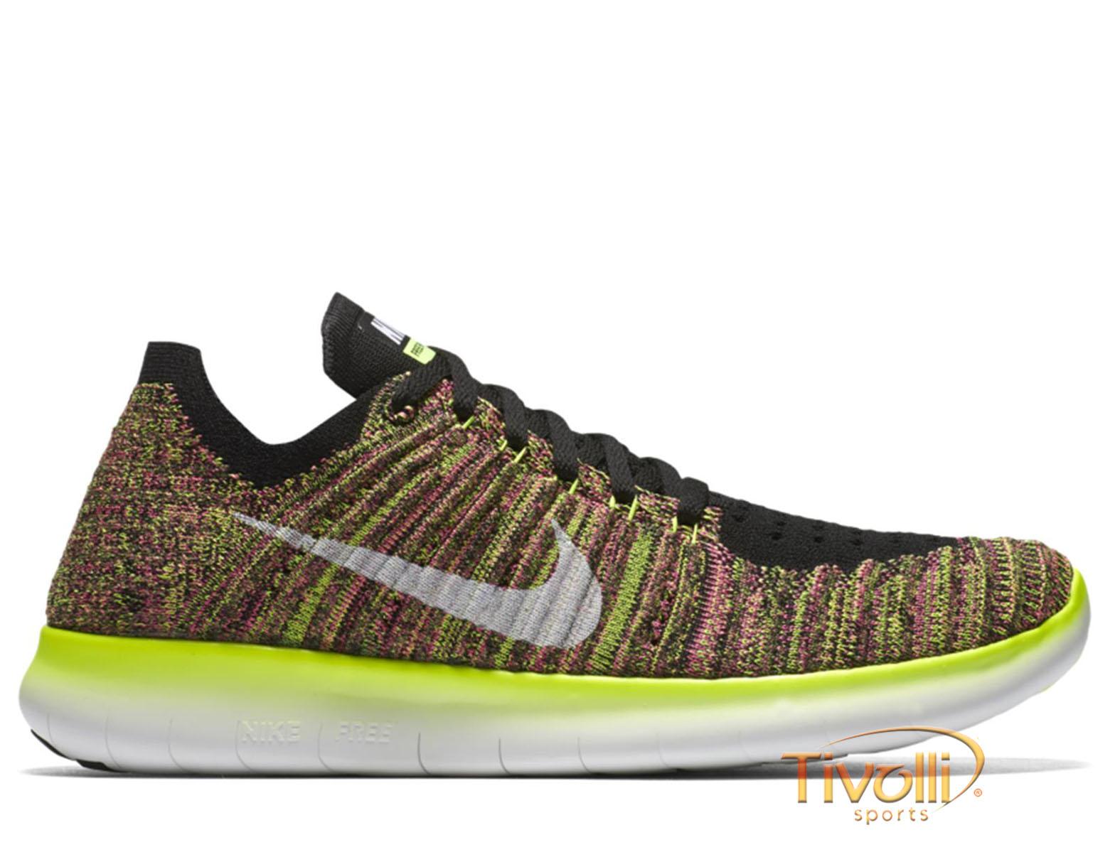 1ee26360bc7 Tênis Nike WMNS Free RN Flyknit OC   multicor