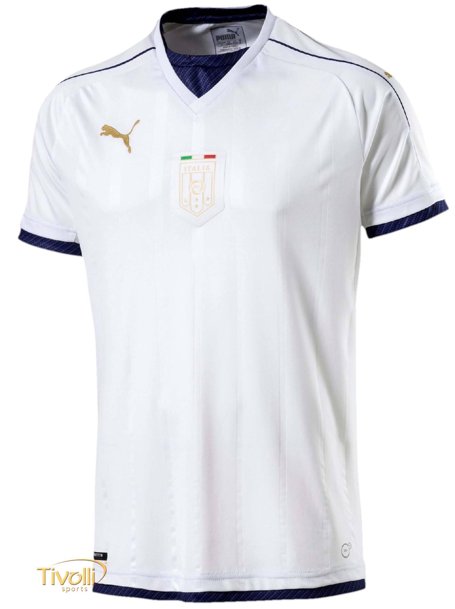 Camisa Itália II Away 2016 17 Puma FIGC   - Mega Saldão   e9f8842506fdd