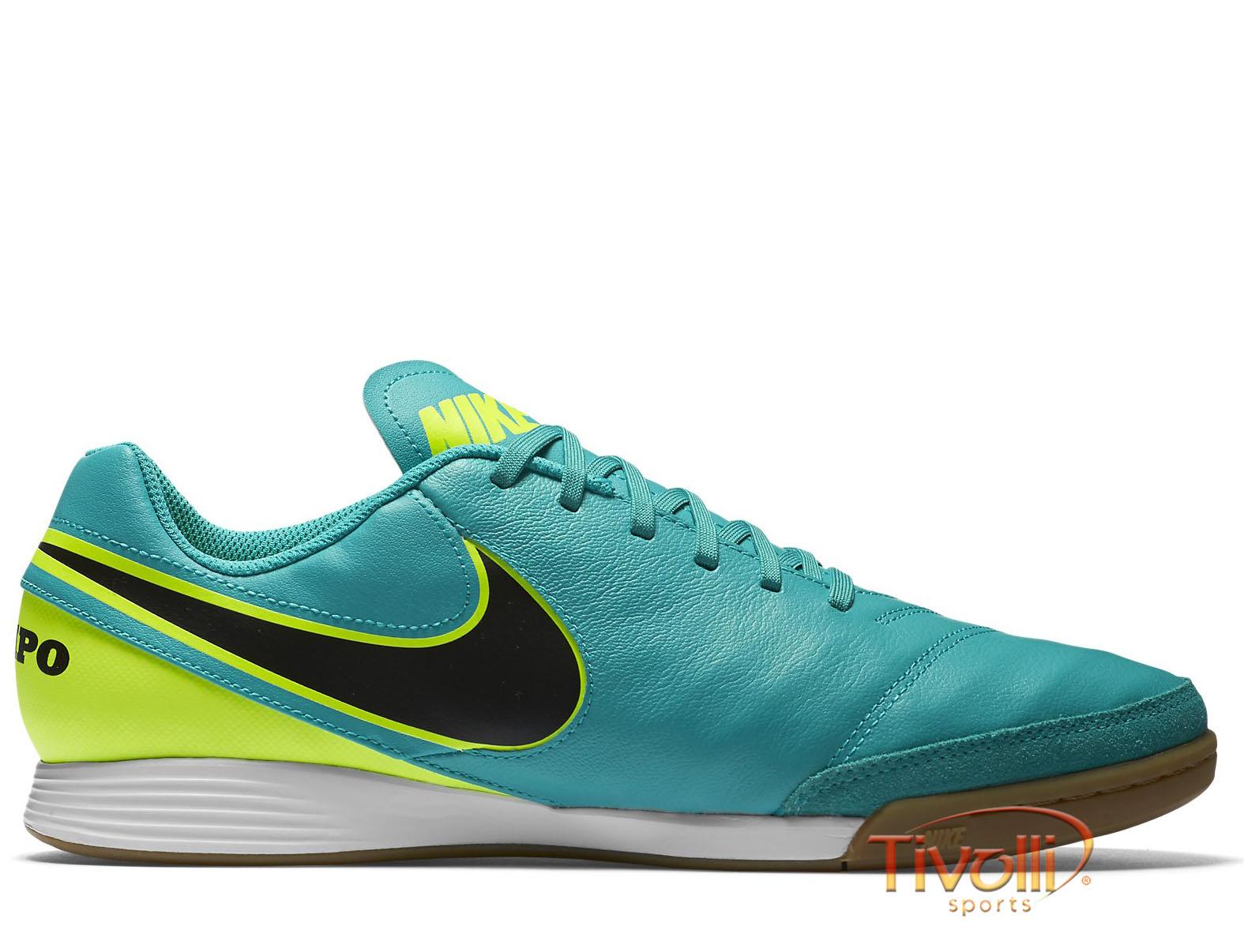 67b7b999788e1 Chuteira Nike Tiempo Genio II Leather IC Futsal