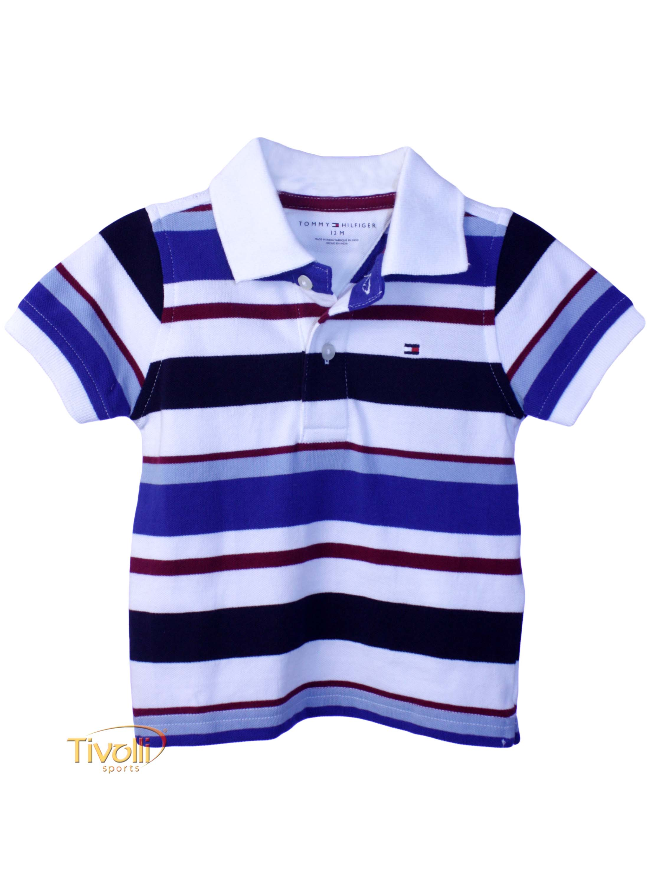 8aa0ecdd35 Polo Tommy Hilfiger Leo Infantil   Listrada branca