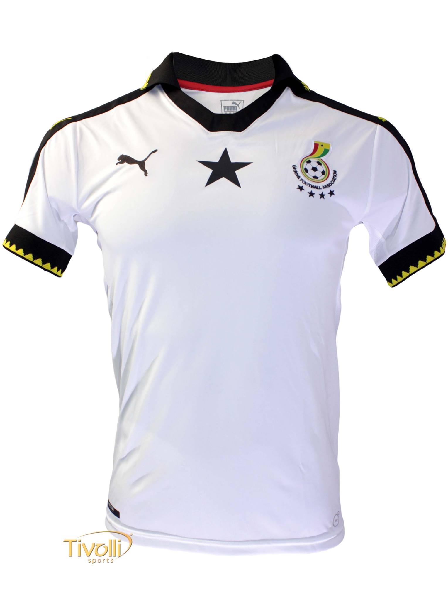 Camisa Gana I Home 2016 17 Puma Masculina   - Mega Saldão   727b90e405d3c